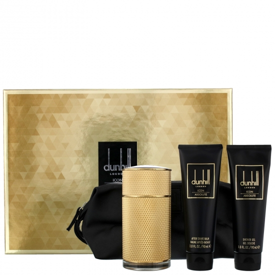 Dunhill Icon Absolute EDP - 4 Piece Gift Set