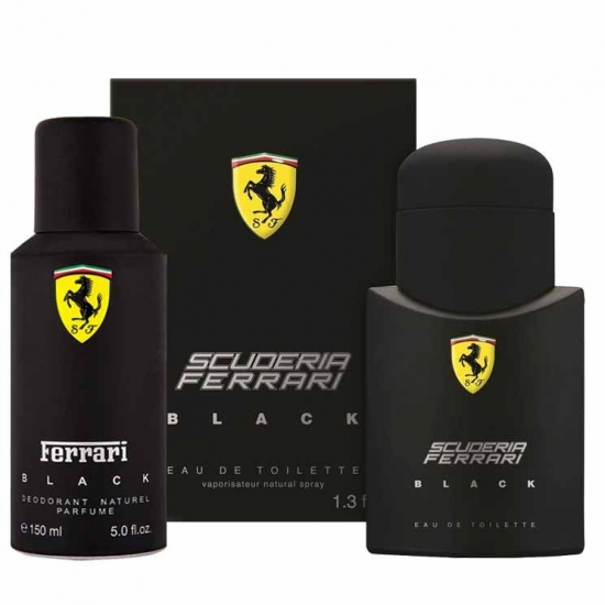 Ferrari Black Combo Pack - 125ml Eau de Toilette +  150ml Deodorant
